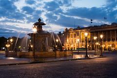 Un soir d't Place de la Concorde (Damien [Phototrend.fr]) Tags: longexposure paris nuit placedelaconcorde poselongue photoparis