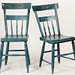 122. Pair of Painted Chairs