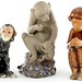 378. Ceramic Monkeys