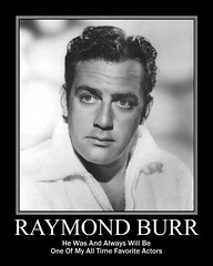 Raymond Burr (Tobyotter) Tags: bw man male guy poster fdsflickrtoys actor raymondburr