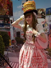 Hyper Japan 2016 12 (Terterian - A million+ views, thanks.) Tags: kensington london capital city uk olympia victorian exhibition centre venue hyper japan 2016 july japanese nippon nipponese culture pastel childlike innocent costume tradition festival art music martial pretty beautiful sexy lolita lollita girls female woman attractive happy smile alternative fashion fashionable models journeys cake hat nnk world