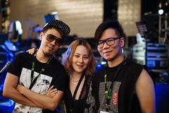Stanley, Pin and Alex (Randy Wei) Tags: music musicians concert live performance fujifilm speedmaster zhongyi xe1 mitakon