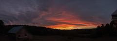 Sunset, part 3 of 3. 7.25.16 (koperajoe) Tags: sunset sky clouds evening dusk summer stratus westernmassachusetts newengland panorama