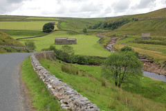 Swaledale Countryside (explored #173) (Adam Swaine) Tags: swaledale countryside yorkshire england english britain rural swaine 2016 landscapes walls roads uk hills riverswale summer seasons