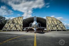 """ The Phantom Of Wattisham"" (SJAviation.net) Tags: jet fgr2 74squadron rafwattisham phantom mcdonnelldouglas nikon xt914 56squadron longexposure bigstopper aviation aircraft aviationphotography"