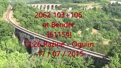 2015_07_999 (HK 075) Tags: hz croatia hrvatska railway diesel hk 075 2062 2044