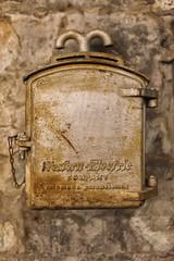 RHM_3268-1640.jpg (RHMImages) Tags: decay utilitybox rusted rusting interior historic northstarminingmuseum museum grassvalley nevadacounty rust sierranevada sign d810 nikon westernelectric california unitedstates us