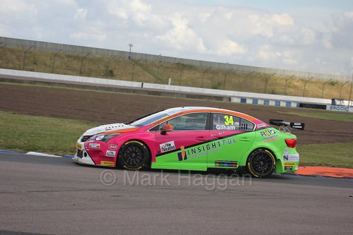 Tony Gilham at Rockingham, August 2016