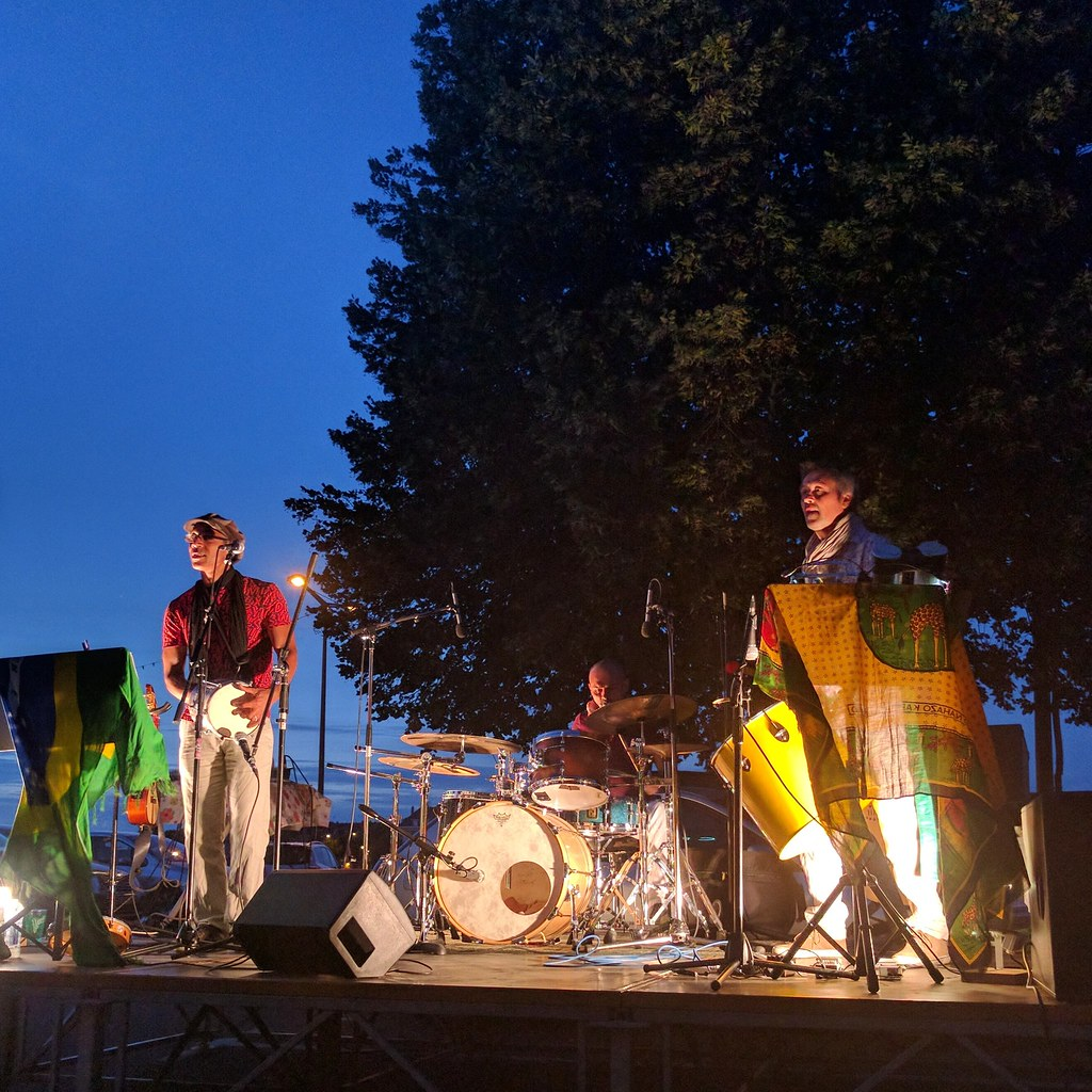 Brazilian entertainment in Saumur