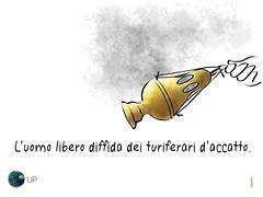 Turiferari d'accatto (uomoplanetario.org) Tags: mama uomoplanetarioorg satira vignetta politica turiferari accatto