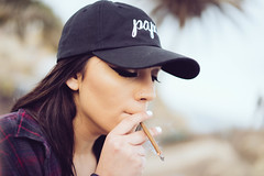 Inhale (FranklyJive) Tags: sunken city blunt san pedro papi dad hat jivelife