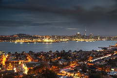 Auckland at Dusk (hapulcu) Tags: newzealand bluehour auckland devonport nz dusk sunset