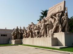 Mausoleum of Mao Zedong (chdphd) Tags: mausoleum maozedong beijing tiananmensquare tiananmen square statue monument