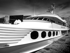 Opulence (stephenbryan825) Tags: albertdock liverpool mannisland pierhead portofliverpoolbuilding royalliverbuilding boats dome selects threegraces vessels yachts