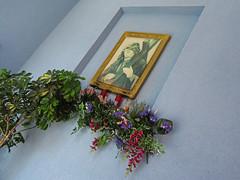 via crucis (maximorgana) Tags: callejondelasoledad cartagena plastic plant flower jesus christ cross viacrucis