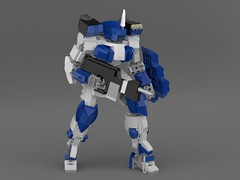 Shikari (KANICHUGA) Tags: lego moc mecha mech military robot