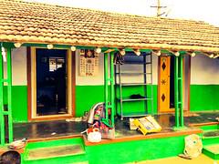 Green village house (revantharch) Tags: green house vibrant revanth ravi village india