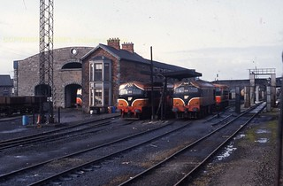 Limerick shed 053 + 038 24oct92 s256