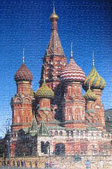 St Basil's Cathedral, Moscow (pefkosmad) Tags: waddingtons 750pieces jigsaw puzzle leisure hobby pastime russia stbasilscathedral moscow complete building architecture