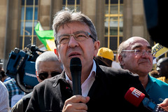 Jean Luc Mlenchon (dprezat) Tags: jeanlucmlenchon mlenchon partidegauche paris manifestation gabon election alibongo jeanping contest protest nikond800 nikon d800