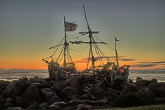 The Grace Darling Pirate Ship, Hoylake, Wirral, England (The Project Manager) Tags: gracedarling pirateship nighttime hoylake wirral
