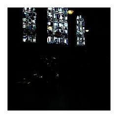shadedfaith (seba0815) Tags: ricohgrdiv grdiv bleachbypass church architecture indoor window light color black dark darkphotography shade faith people city urban square mood quiet silence memories seba0815 framed