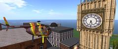 Big Ben (Ima Sugarplum) Tags: sl secondlife virtual bigben clock london imasugarplum