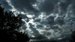 P1030291 (seanhigson) Tags: sky night moody clouds sun dark fz200