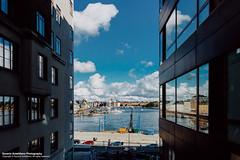 bana. n2 (Saverio Autellitano Photography) Tags: autellitano photography saverio stockholm stockholmsln sweden se sverige sky blue clouds air buildings street colors colours