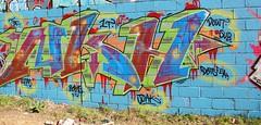 Nekah (STEAM156) Tags: uk streetart london art graffiti travels photos united towers kingdom artists walls nekah trelik steam156 wwwlondongraffititourscom