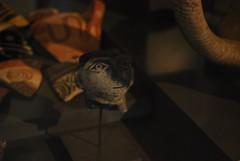 Head of a human figurine (konde) Tags: ancient figurine mycenae neuesmuseum