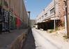 Separation barrier by closed shops, Bethlehem
