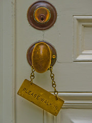 so I danced in.... (1bluecanoe) Tags: spring may doorknob 2012 1bluecanoe bloedell pleasewalkin