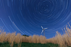 Startrail Windrad/Windmill (Chill_Photo) Tags: night nightshot nacht startrails nachtfotografie