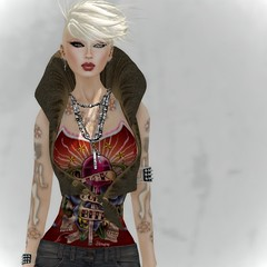 Lick, don't bite (Bea Serendipity ~ SL TOP MODEL 2013 ~) Tags: fashion model style mandala sl secondlife facepaint sys amorous maitreya blowpop cheerno beatriceserendipity houseofdragovar