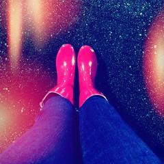 Rain, Rain... (SooSee.Q) Tags: pink wellies rainboots golashes