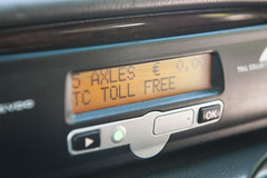 Toll Collect technology explained during the technical tour