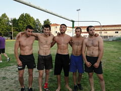 wrestlers and friends / Skutari /Serres Greece (d.mavro) Tags: body wrestling traditional greece wrestler biceps serres yunanistan grecoroman pehlivan athlet serez skutari