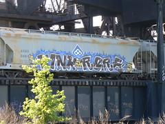 kink and rare (httpill) Tags: streetart art train graffiti graf railcar boxcar railways rare freight kink moniker benching freighttraingraffiti httpill