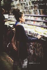Kenza Record Shop (Tatenda Nyamande) Tags: old summer portrait london fashion shop vintage streetphotography sunny trainstation record raining naturalhair streetfashion blackwomen africanwoman londonsummer sigma1770mm canon60d ubuntuphotography ubuntugraphy ubuntufilms tatendanyamande