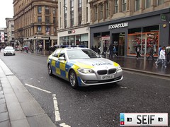 BMW 5SERIES GLASGOW2012 (seifracing) Tags: seifracing police bmw serie 5 saloon strathclyde glasgow 2012 cars vehicles sf12bju