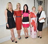 Jane Given, Yvonne Keating, Georgina Byrne, Cecelia Ahern, Miriam Ahern CARI Summer Lunch and Fashion Show Dublin, Ireland