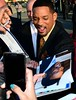 Will Smith signing autographs at the German Premiere of 'Men in Black 3' (3D) at o2 World. Berlin, Germany