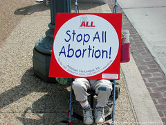 Stop All Abortion! (American Life League) Tags: holocaust abortion now genocide prolife prochoice reproductiverights nationalorganizationforwomen jamespendergraft catholicsforchoice