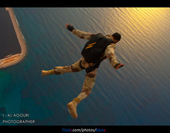 Sky Diving The Best hobby ( [ Libya Photographer ]) Tags: sky bird birds canon eos 350d sigma diving os hobby best 7d 1855 libya the 70300