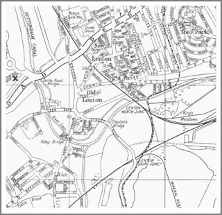 Lenton - New Lenton - Old Lenton - The Park - King's Meadows - River Leen