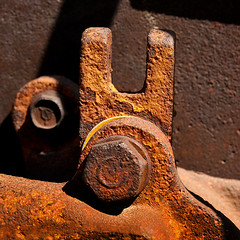 Rusted On (arbyreed) Tags: old abandoned closeup rust close decay forgotten rusted disused crusty corrosion rustymetal arbyreed oldrustymachine rustyminemachine