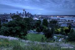 Kerry Park (Andrew E. Larsen) Tags: seattle sky kerrypark papalars andrewlarsen andrewlarsenphotography kerryparkmystique