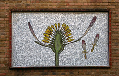 Mosaic panel, Ezra Street (jelm6) Tags: mosai
