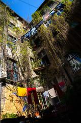 the laundry blues (Tafelzwerk) Tags: berlin wall nikon wand kultur culture blues clothes laundry wsche hinterhof waschen huserwand d7000 tafelzwerk